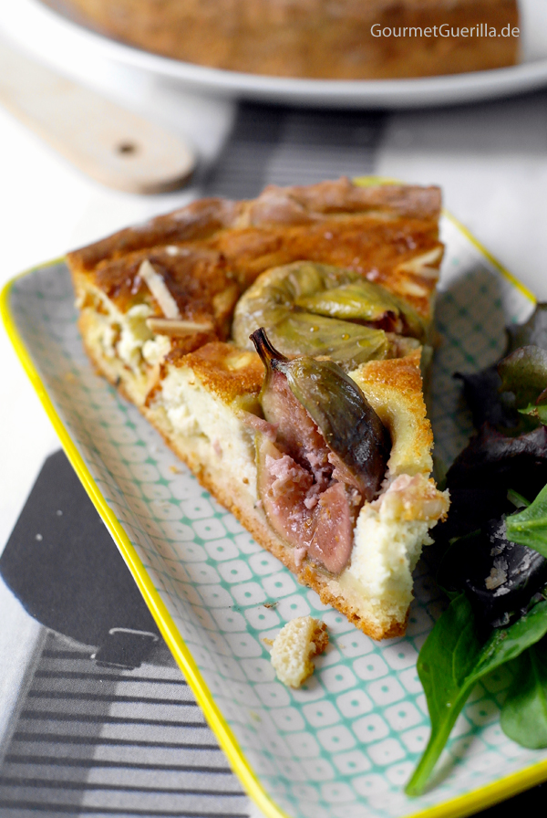 Fig Gorgonzola Tart by GourmetGuerilla # buffet #brunch #tarte