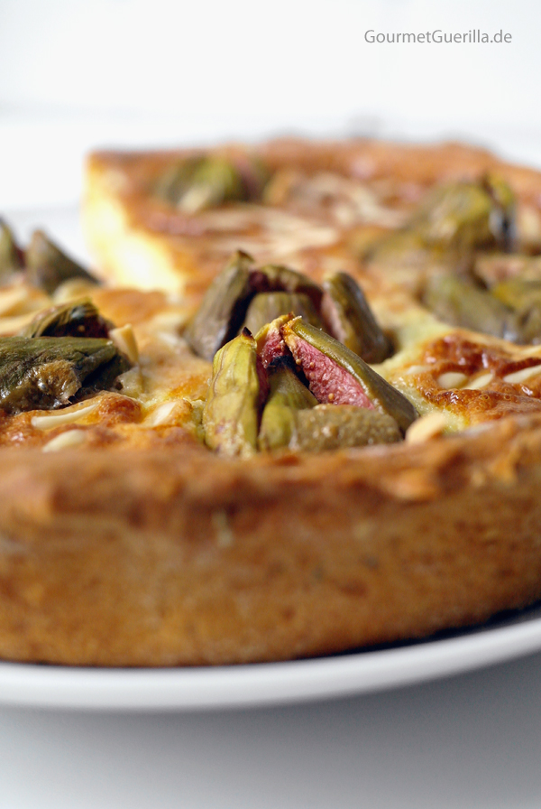 Fig Gorgonzola Tarte #brunch #backen #Quiche