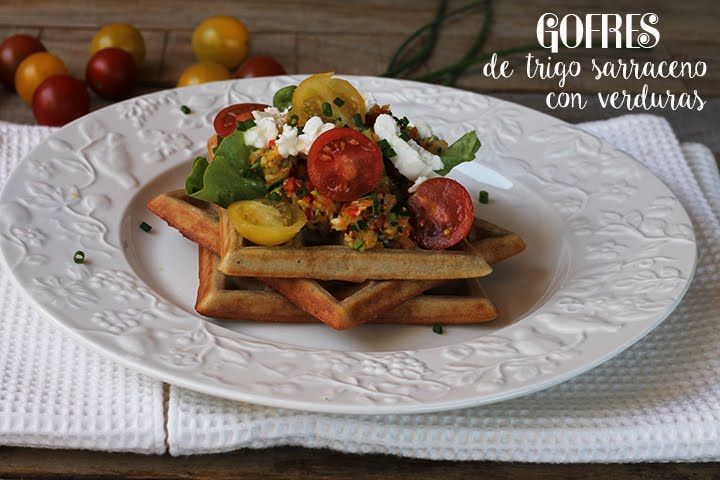 GOURRES OF WHEAT SARRACENO WITH VEGETABLES